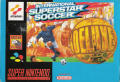 International Superstar Soccer Deluxe SNES Front Cover