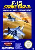 F-15 Strike Eagle NES Front Cover