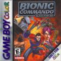 Bionic Commando: Elite Forces Game Boy Color Front Cover