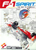 F-1 Spirit: The Road to Formula 1 MSX Front Cover