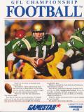 GFL Championship Football Commodore 64 Front Cover