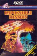 Impossible Mission Commodore 64 Front Cover