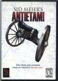 Sid Meier's Antietam! Windows Front Cover