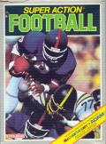Super Action Football ColecoVision Front Cover