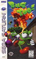 Bug Too! SEGA Saturn Front Cover