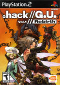 .hack//G.U. Vol. 1//Rebirth PlayStation 2 Front Cover