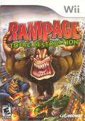 Rampage: Total Destruction Wii Front Cover