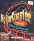 RollerCoaster Tycoon: Loopy Landscapes Includes Corkscrew Follies Windows Front Cover