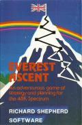 Everest Ascent ZX Spectrum Front Cover