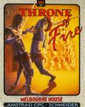 Throne of Fire Amstrad CPC Front Cover