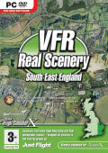 VFR Real Scenery: South East England Windows Front Cover