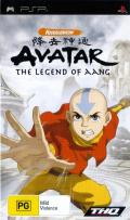 Avatar: The Last Airbender PSP Front Cover