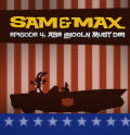 Sam & Max: Episode 4 - Abe Lincoln Must Die! Windows Front Cover