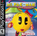 Ms. Pac-Man Maze Madness PlayStation Front Cover