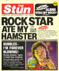 Rock Star Ate My Hamster ZX Spectrum Front Cover
