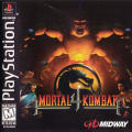 Mortal Kombat 4 PlayStation Front Cover