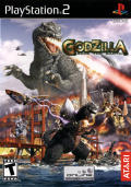 Godzilla: Save the Earth PlayStation 2 Front Cover