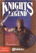Knights of Legend Apple II Front Cover