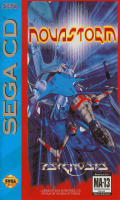 Novastorm SEGA CD Front Cover