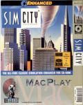 SimCity: Enhanced CD-ROM Macintosh Front Cover
