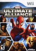 Marvel Ultimate Alliance Wii Front Cover