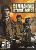 Commandos: Strike Force Windows Front Cover