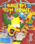 Krusty's Fun House DOS Front Cover