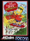 The Simpsons: Bart vs. the Space Mutants Amstrad CPC Front Cover
