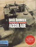 Steel Thunder DOS Front Cover