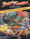 Street Fighter Series DOS Front Cover