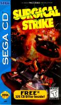 Surgical Strike SEGA CD Front Cover