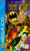 The Adventures of Batman & Robin SEGA CD Front Cover
