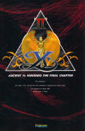 Ys II: Ancient Ys Vanished - The Final Chapter MSX Front Cover