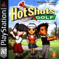 Hot Shots Golf PlayStation Front Cover .