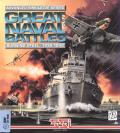 Great Naval Battles Vol. IV: Burning Steel, 1939-1942 DOS Front Cover