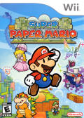Super Paper Mario Wii Front Cover