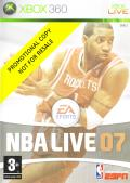 NBA Live 07 Xbox 360 Front Cover