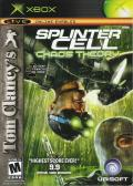Tom Clancy's Splinter Cell: Chaos Theory Xbox Front Cover