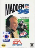 Madden NFL 95 Genesis Front Cover