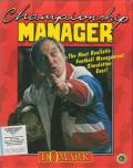 Championship Manager DOS Front Cover