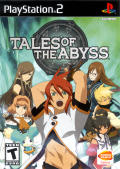 Tales of the Abyss PlayStation 2 Front Cover