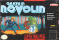 Captain Novolin SNES Front Cover