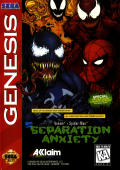 Venom • Spider-Man: Separation Anxiety Genesis Front Cover