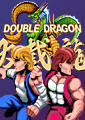 Double Dragon Xbox 360 Front Cover first version