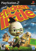 Disney's Chicken Little PlayStation 2 Front Cover