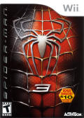 Spider-Man 3 Wii Front Cover