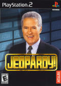 Jeopardy! PlayStation 2 Front Cover