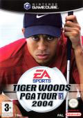 Tiger Woods PGA Tour 2004 GameCube Front Cover