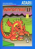 Adventure II Atari 5200 Front Cover