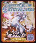 Knights of the Crystallion Amiga Front Cover